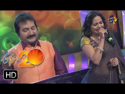 Sunitha,Mano Performance - Neek Kavalasindi Song in Kurnool ETV @ 20 Celebrations
