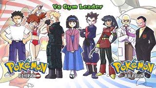 Pokemon Red/Blue/Yellow - Battle! Gym Leader Music (HQ)