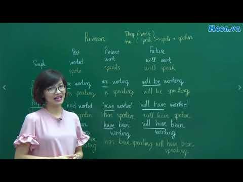 [Moon.vn] - Cô Vũ Mai Phương - Ôn tập về thì - Khóa Tiếng Anh cho người mới bắt đầu