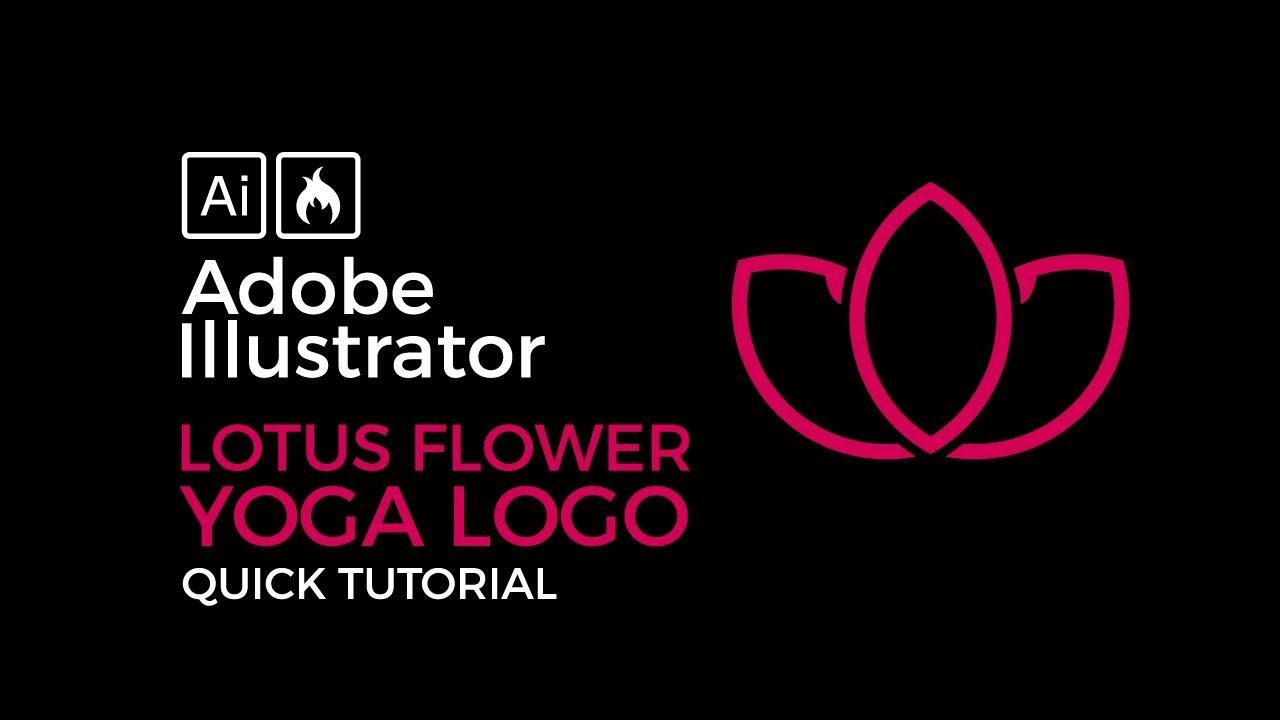 Adobe Illustrator Beginner Tutorial How To Create A Lotus Flower