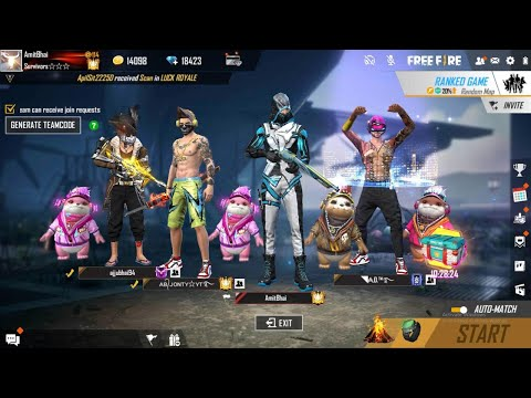FREE FIRE LIVE ON MOBILE || DESI ARMY