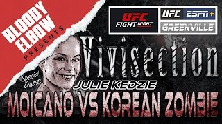 Baixar The MMA Vivisection with Julie Kedzie - 'Moicano v Korean Zombie' Picks, Odds & Analysis