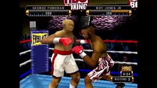 HBO Boxing - HD Remastered Showroom - PSone