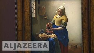 Twelve Johannes Vermeer masterpieces on show at Louvre