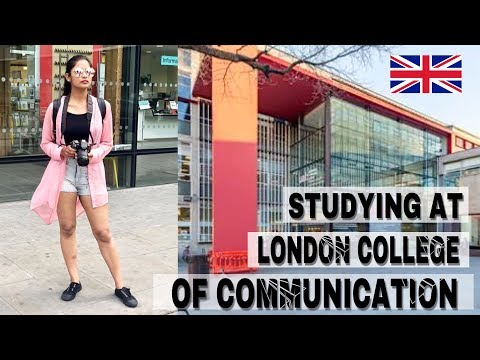 LAST DAY AT LONDON COLLEGE OF COMMUNICATION || #STUDYABROAD ||