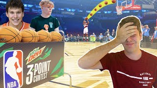 EMBARRASSED MYSELF IN NBA SKILLS CHALLENGE + 3 POINT CONTEST! Ft. 2Hype + TJass