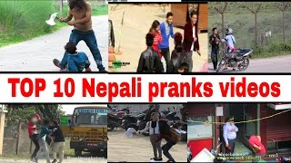 top 10 best nepali prank video from different channels funny nepali video prank