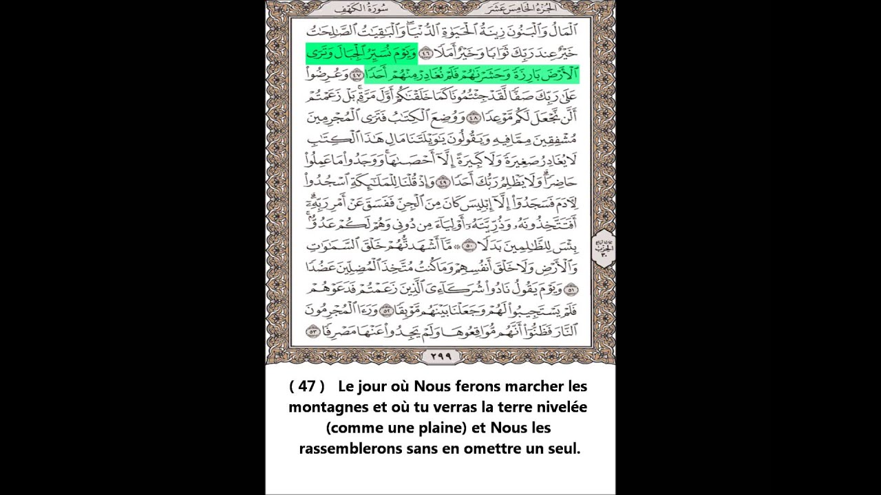 AL TÉLÉCHARGER MP3 SOURAT SOUDAIS KAHF