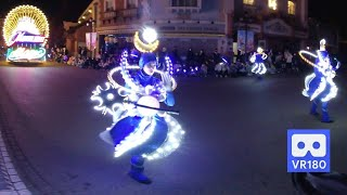 3D 180VR 4K Dancer with beautiful winks in Moonlight Parade Everland Theme Park