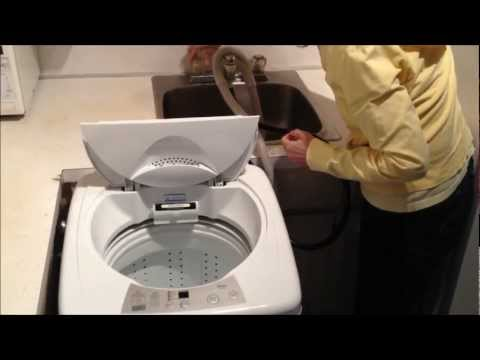 washing machines you hook up to your sink