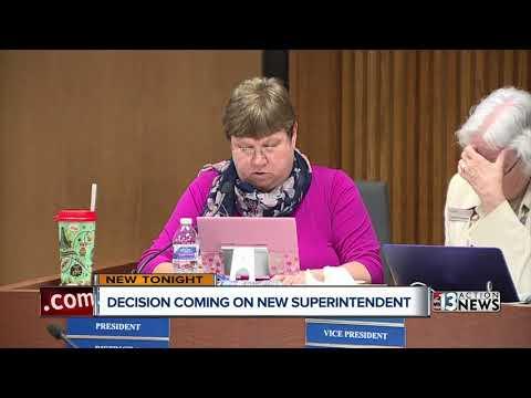 Clark County School District sets list of superintendent finalists