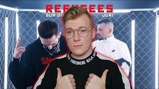 JURI feat. Sun Diego - Refugees prod. by Digital Drama Reaction/Reaktion
