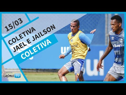 [COLETIVA] Jael e Jailson - 15/03 l GrêmioTV