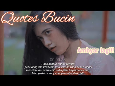 Quotes Bucin Vanesa Ambyar Youtube