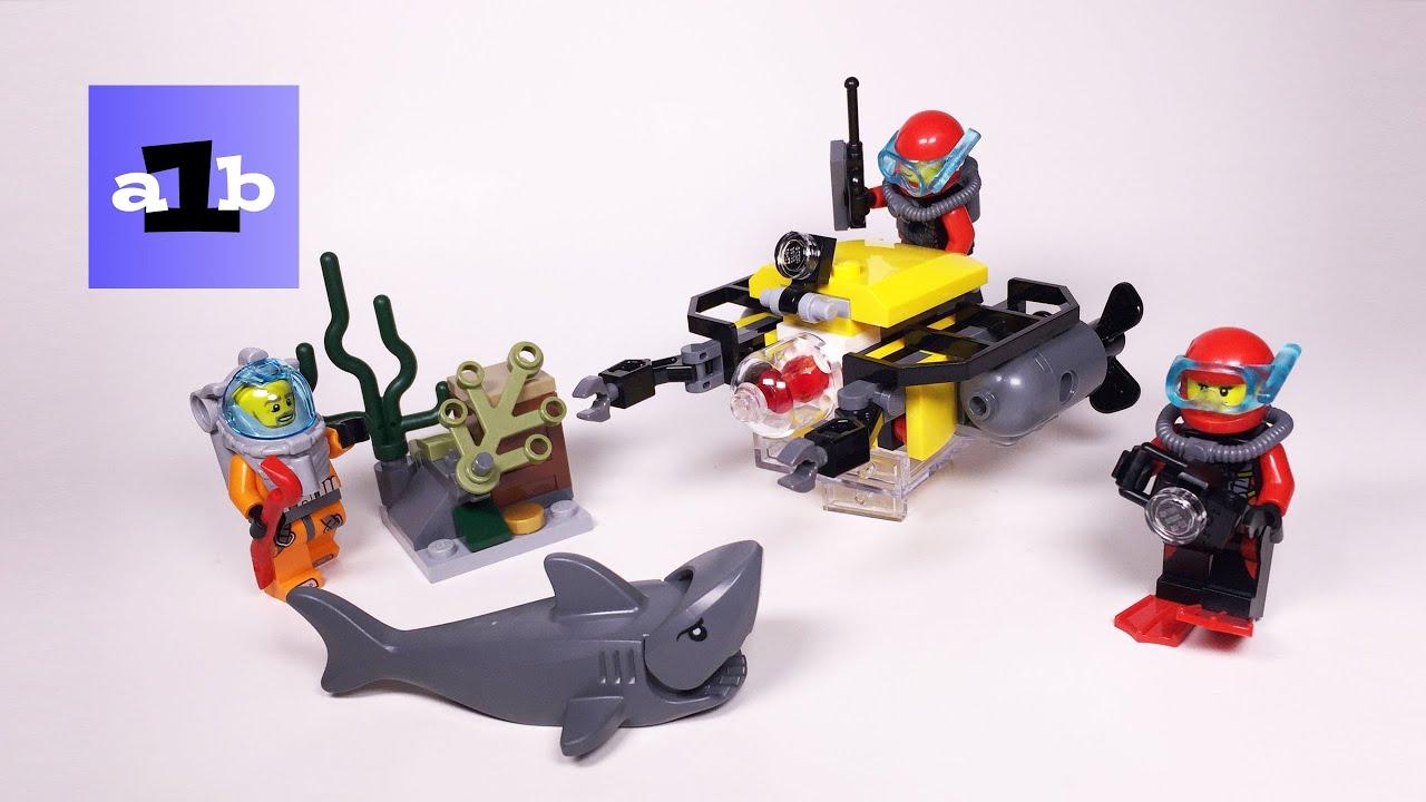 Lego City 60091 Deep Sea Starter Set Time Lapse Build Youtube