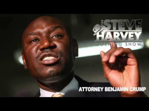 THE ATTORNEY OF TRAYVON MARTIN'S FAMILY: BENJAMIN CRUMP ON-AIR INTERVIEW