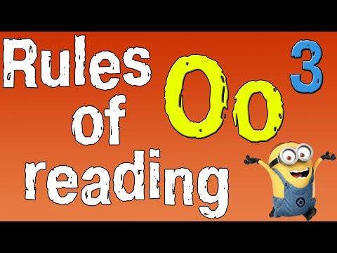 Как читается o в английском языке
