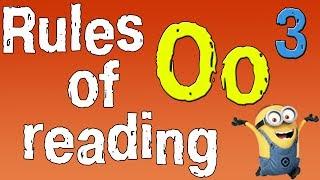 Англійська для початківців. Правила читання англійською мовою. Буква O. (частина 3)