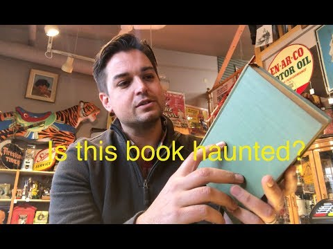 Saga of the haunted book, who knew books could be so creepy?