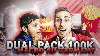 FIFA 17 - DUEL PACK OPENING [100K]JE PAIE UN MCDO A CLEM-CLOUM  SI IL GAGNE !!!