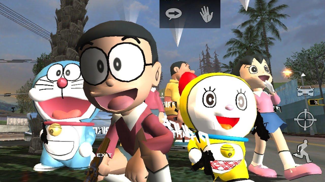 Gta Sa Gta Doraemon Game Download Android Gta Doraemon Mod Android With Nobita House
