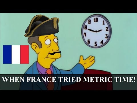 The Time France Used Metric Time