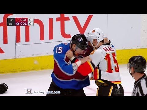 Tanner Glass vs Duncan Siemens Feb 28, 2018