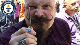 Most nails inserted into the nose - Guinness World Records