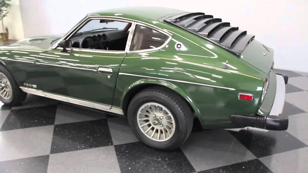 1507 78 Datsun 280Z Finalmov  YouTube