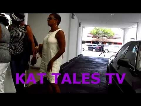 Star Jones, Vanessa Bell Calloway & Vivica A Fox Leaving Lunch