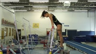 Coaching Tips: Gymnastics: GLIDE KIP CAST HANDSTAND - Kelli Hill Episode 1
