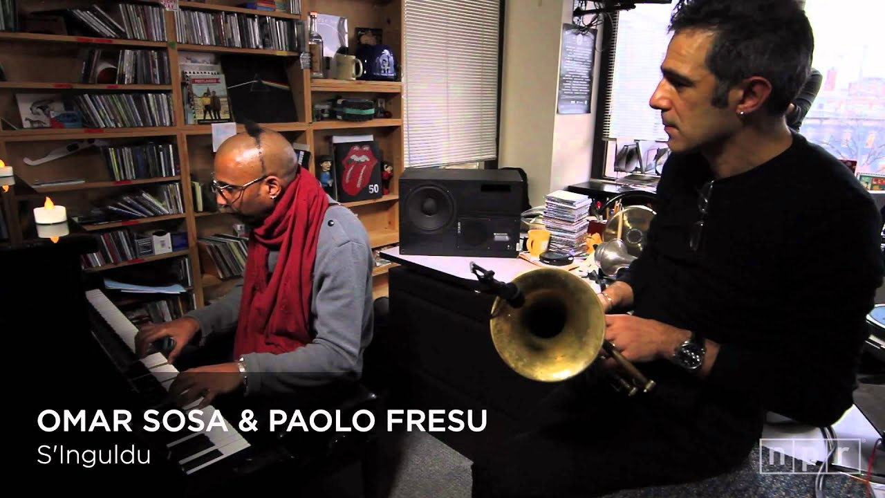 Omar Sosa & Paolo Fresu || NPR Music Tiny Desk Concert