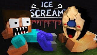 Monster School: Ice Scream Horror Game Challenge - Minecraft Animation