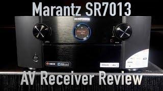 Marantz SR7013 AV Receiver Review | 9 channel, DTS:X, Atmos and IMAX Enhanced