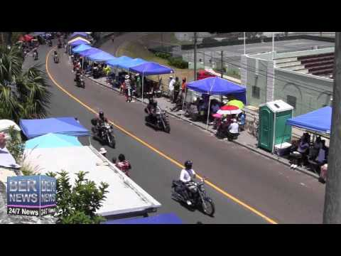 Classic Bikes, Longriders & Cars In The Bermuda Day Parade, May 26 2014