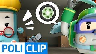 Give me wheels too!! | Robocar Poli Clips