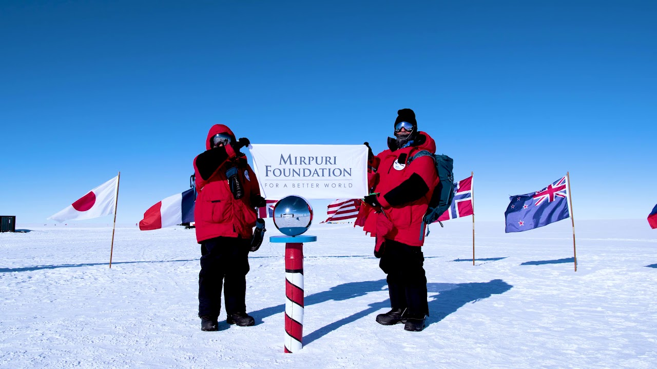 Mirpuri Foundation - South Pole Expedition