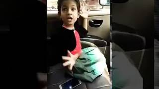 Little  girl fight with her daddy funny clip