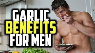 Garlic Benefits For Men & The Use of Odorless Garlic Capsules