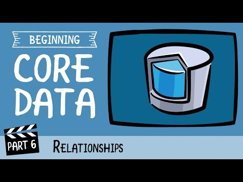 core data relationship not persisting definition