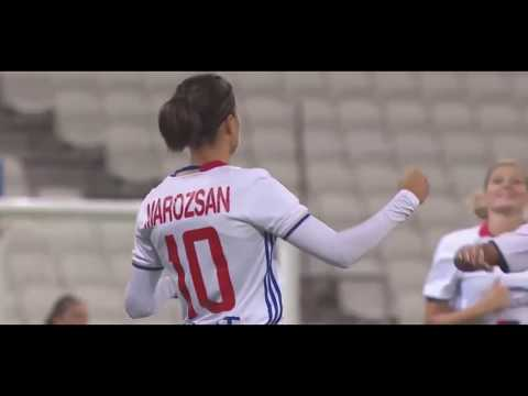 Dzsenifer MAROZSAN Skills & Goals in 2016-2017 O. Lyon ----- German Women Football Player