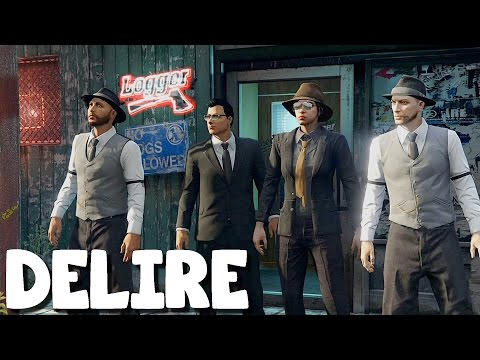 (Video-Delire) GTA 5 Online avec Marcus, Jisters et Barbara - Episode 23