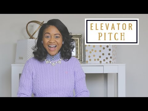 How To Craft The Perfect Elevator Pitch | Business Etiquette