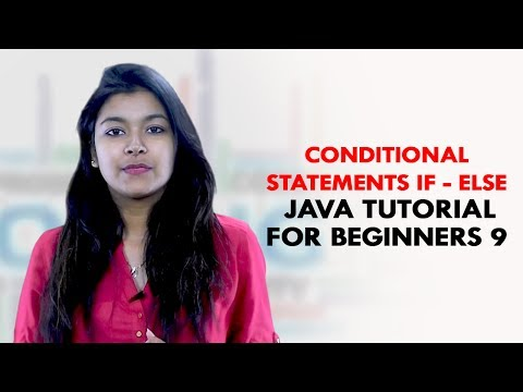 Conditional Statements If - Else   Java Tutorial For Beginners 9   TalentSprint