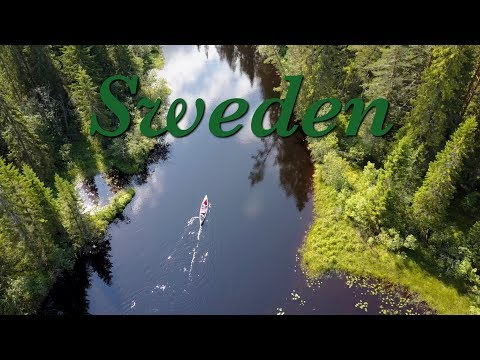 Sweden in Canoe - Amazing outdoor Trip - with Drone and Gopro