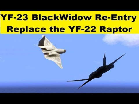 YF-23 Black Widow, Could Replace the F-22 Raptor