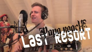 Papa Roach - Last Resort Acoustic (Cover by Johannes Burghart)