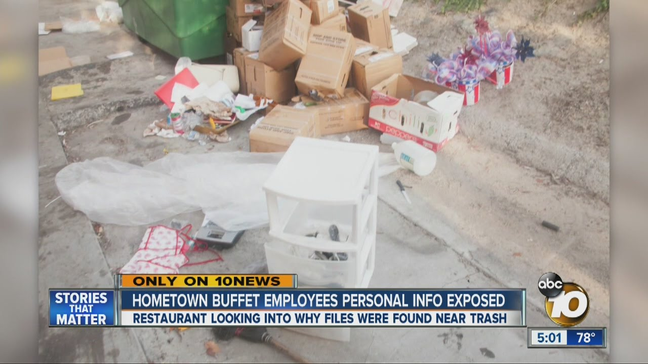 hometown buffet employees personal information exposed youtube rh youtube com