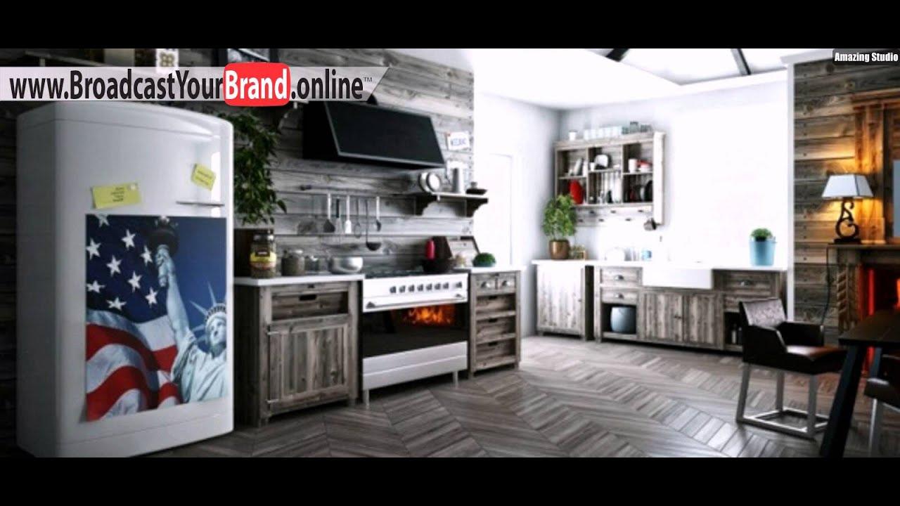 Regalsystem Schrank Küche Möbel Design Idee - YouTube