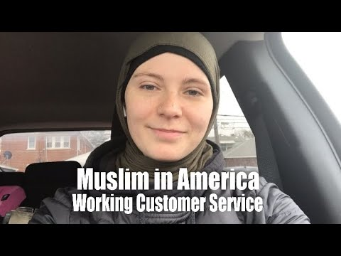 Muslim in America cashier at Sears